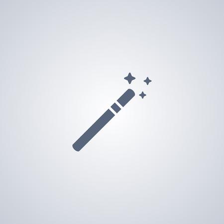 Wand vector icon, Magician vector icon