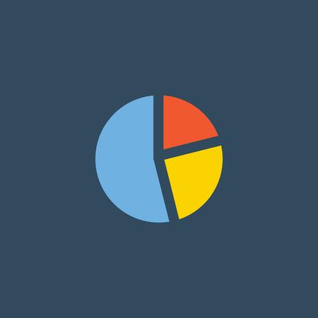 Chart vector icon, Diagram vector icon