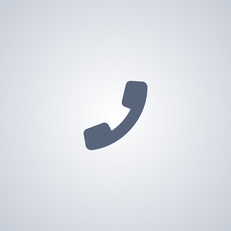 Phone, telephone, vector best flat icon on white background , EPS 10