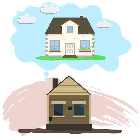 Remodeling house, Old house dreams of repair