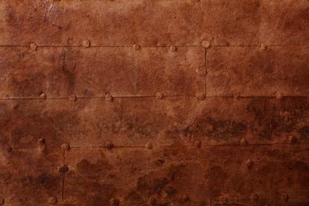 oxidado: la superficie de hierro viejo