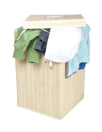 Box with Dirty Laundry photo