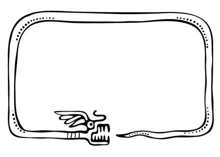 snake frame, design element Stock Vector - 15754251