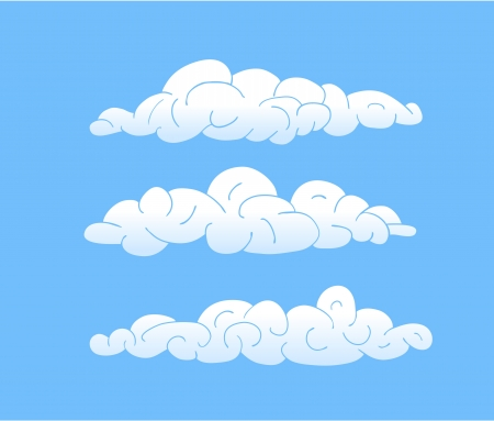 Clouds Stock Vector - 15754259