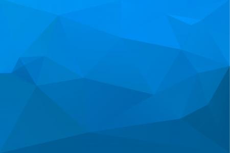 three cornered: Abstract blue background Illustration