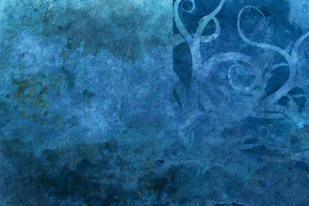 grunge blue background with space for text Stock Photo - 16213769