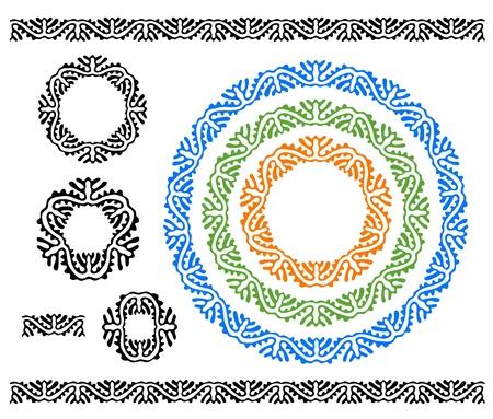 ethnic ornaments Stock Vector - 16519234
