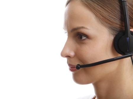 Call Center Woman photo