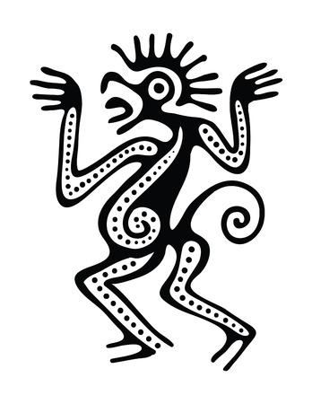folktale: Ornamento en el estilo maya