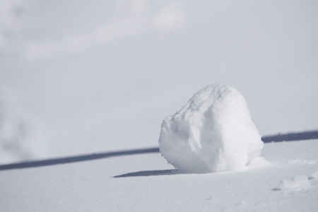 clump: clump of snow, white winter background