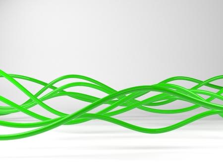 Berühmt Grüne Weiße Und Schwarze Elektrische Drähte Zeitgenössisch ...