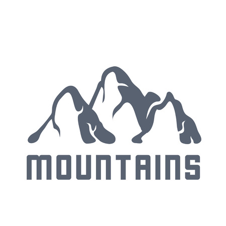moutain climbing: Mountain landscape