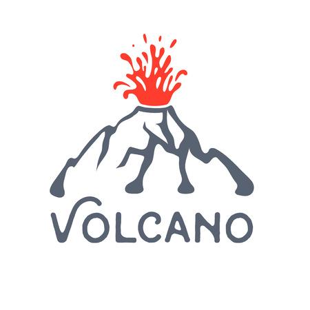 erupt: Volcano eruption