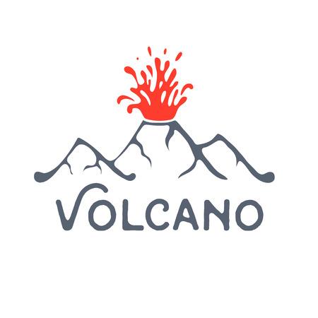 eruption: Volcano eruption