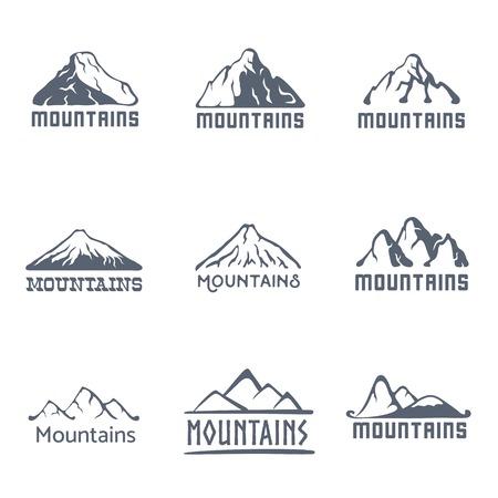 Berglandschap vector Vector Illustratie