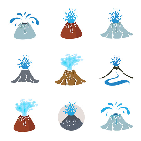 borehole: Water geyser