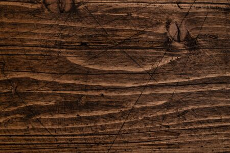 Brown wood texture. Abstract background, empty template with natural pattern.