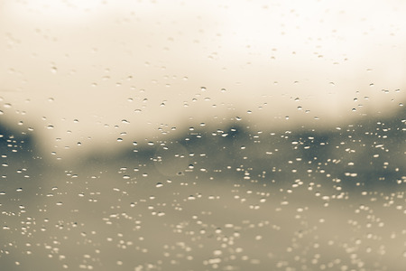 refreshed: Water drop on car mirror