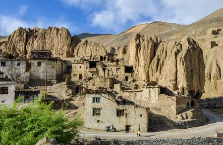 slums: These Tibetan slums Stock Photo