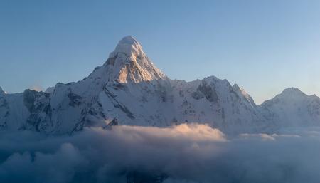 The highest peaks of the world Amadablam