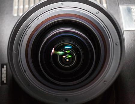 Huge projector lens photo