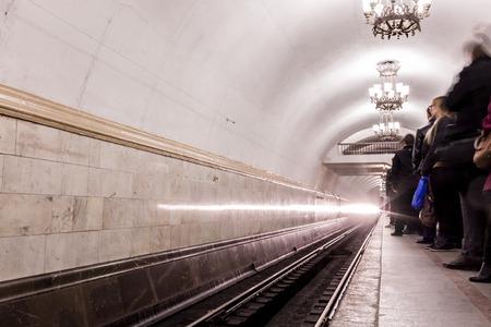 fussy: Fussy life underground in the city subway