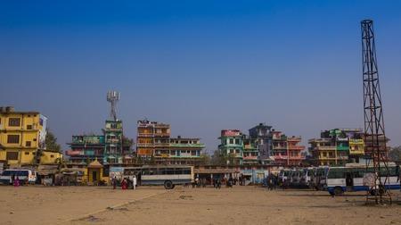 varanasi: On the river Ganges in Varanasi India Editorial