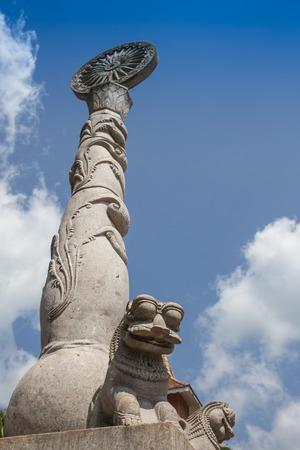 buddhist stupa: Ancient Vatadage Buddhist stupa in Pollonnaruwa,  Sri Lanka