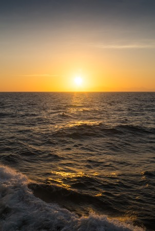 colorful sunrise: Sky background on sunset.  Nature composition Sri Lanka