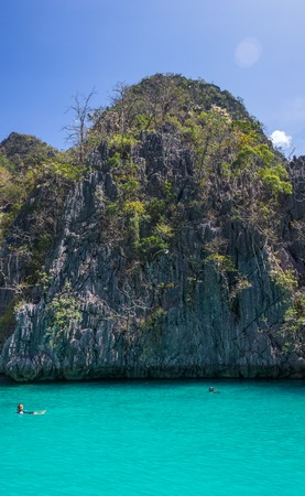 phi: bay at Phi phi island in Philippins