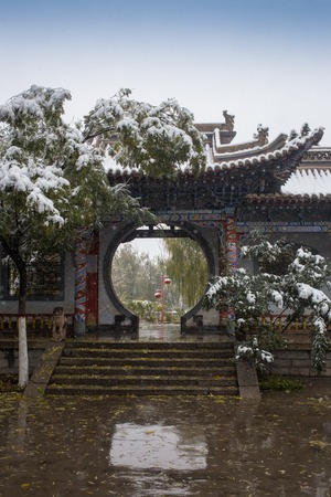 shady: shady bower on the west lake in hangzhou China