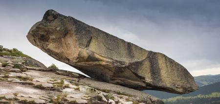 myst: Wonder of Nature. Hanging Stone Kjeragbolten in Rogaland, Norway.