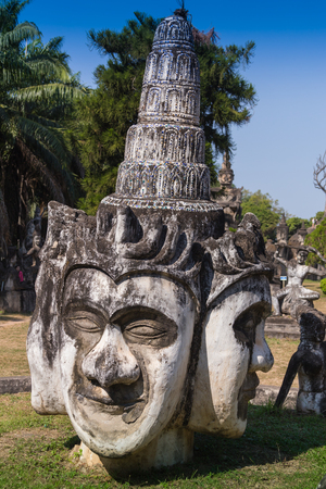 dogma: Dolly, Pagoda in Wat-Sawangboon at Saraburi, Thailand,