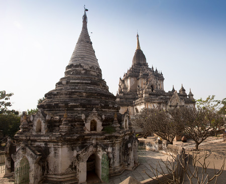 archaeological sites: Meny old Ancient Temples in Bagan, Myanmar