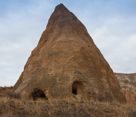 Town of Uchisar at the sunrise, Cappadocia