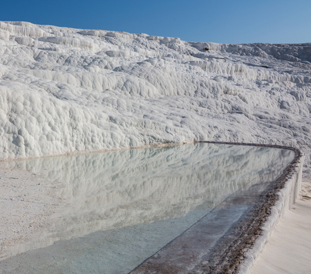 The enchanting pools of Pamukkale in Turkey