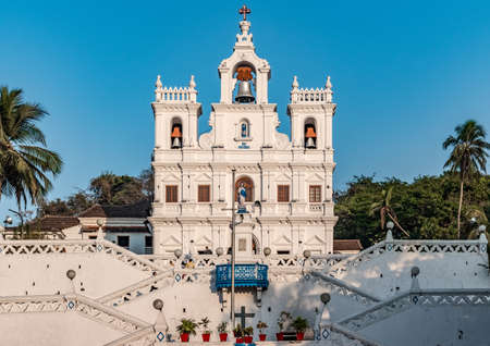 Very Famous Panjim Church aka Our Lady of the Immaculate Conception Church in the capital city of Goa.