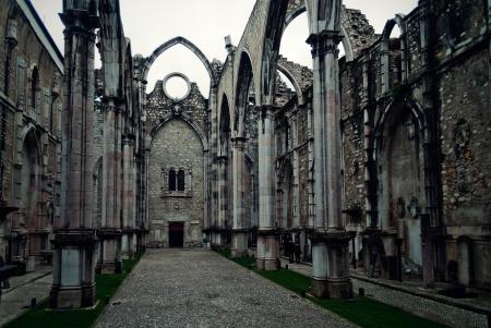 The Carmo Convent (Portuguese: Convento da Ordem do Carmo) is a historical building in Lisbon, Portugal. photo