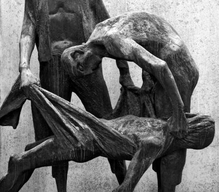 sachsenhausen: Sachsenhausen Crematorium Memorial, Oranienburg Stock Photo