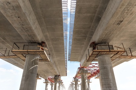 incremental: Incremental launch is a recent method of building a complete bridge deck from one end of the bridge only