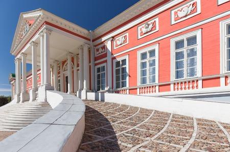 kuskovo: Staircase in the Kuskovo palace, Russia Editorial
