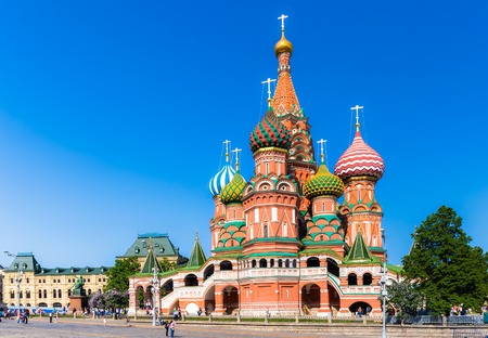 vasily: The Cathedral of Vasily the Blessed on the Red Square in Moscow. A world famous landmark. It was built from 1555-61 on orders from Ivan the Terrible and commemorates the capture of Kazan and Astrakhan.
