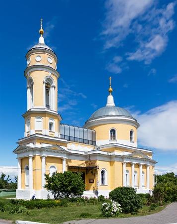 exaltation: Church of the Exaltation of the Holy Cross in Kolomna Kremlin, Russia Stock Photo