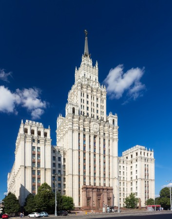 The Red Gate Building is one of seven Stalinist skyscrapers, designed by Alexey Dushkin. Its name comes from the Red Gate square. Editorial