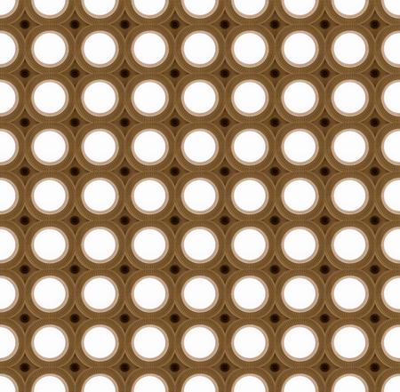 stile: Seamless picture of lighting circles, art-deco stile Stock Photo