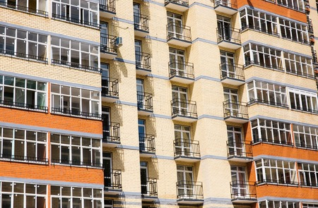 New Modern Multistorey Apartment Building Photo