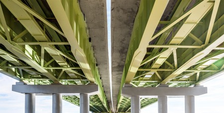 the view from below: View from below to an elevated road