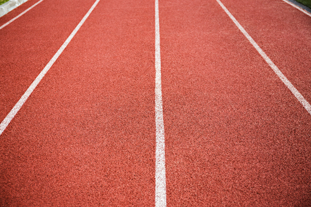 scabrous: Lanes on a running track