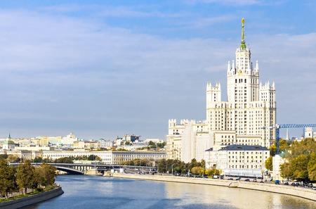 kotelnicheskaya embankment: Kotelnicheskaya embankment building, view from the river