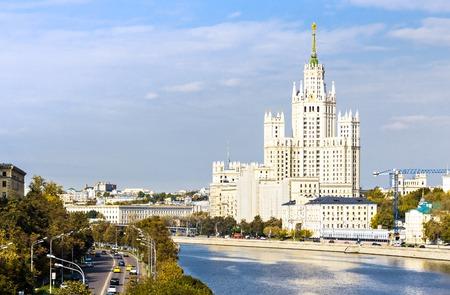 kotelnicheskaya embankment: Kotelnicheskaya embankment building in Moscow